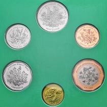 Кабо Верде набор 6 монет 1994 год. Флора.