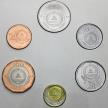 Набор 6 монет Кабо Верде 1994 год. Корабли.