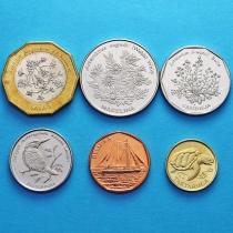 Кабо Верде набор 6 монет 1994 год.