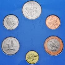 Кабо Верде набор 6 монет 1994 год. Птицы.