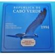 Набор 6 монет Кабо Верде 1994 год. Птицы.