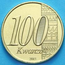 Ангола 100 кванза 2015 год. 40 лет независимости.