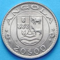 Португальская Ангола 20 эскудо 1971 год.