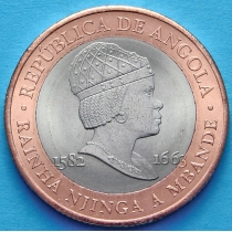 Ангола 20 кванза 2014 год.