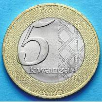 Ангола 5 кванза 2012 год.