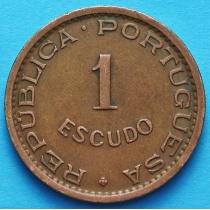 Португальская Ангола 1 эскудо 1956-1963 год.