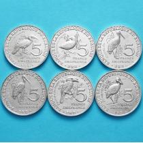 Бурунди набор 6 монет 2014 год.
