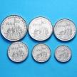 Набор 6 монет 1997 год. Эритрея