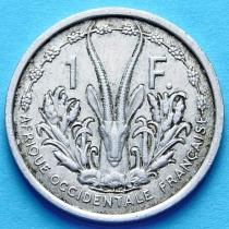 Западная Африка 1 франк 1948 год.