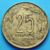 Камерун 25 франков 1962 год.