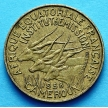 Монета Камеруна 5 франков 1958-1965 год.