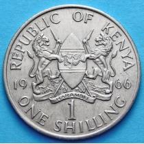 Кения 1 шиллинг 1966-1968 год