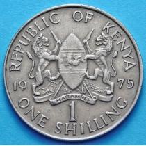Кения 1 шиллинг 1969 - 1978 год.