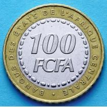 Центральная Африка 100 франков 2006 год.
