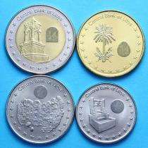 Ливия набор 4 монеты 2014 год.