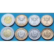 Мавритания набор 4 монеты 2009-2010 год.