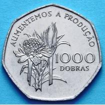 Сан Томе и Принсипи 1000 добра 1997 год