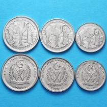 Западная Сахара набор 3 монеты 1992 год