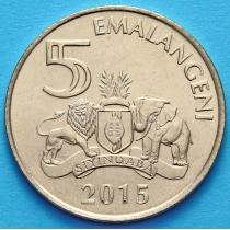 Свазиленд 5 эмалангени 2015 год