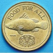 Уганда 200 шиллингов 1995 год. ФАО