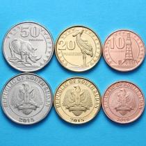 Южный Судан набор 3 монеты 2015 год.
