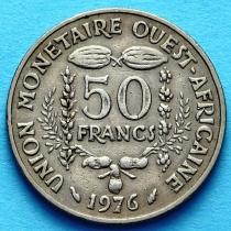 Западная Африка 50 франков 1972-2011 год. ФАО