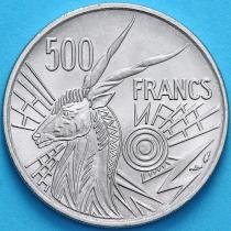 Центральная Африка 500 франков 1976 год. Чад