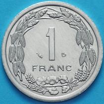 Центральная Африка (BEAC) 1 франк  2003 год.