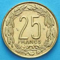 Центральная Африка 25 франков 2003 год.