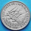 Монета Центральной Африки 50 франков 1981 год. Конго.