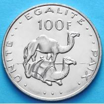 Джибути 100 франков 2007 год.