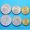 Набор 6 монет Джибути 1991-2007 год.