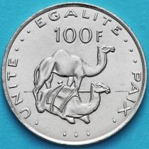 Джибути 100 франков 2013 год.