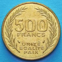 Джибути 500 франков 1991 год.