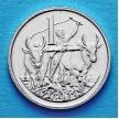 Монета Эфиопии 1 цент 1977 год.