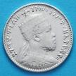 Монета Эфиопии 1 герш 1899 год. Серебро. №4