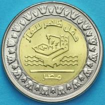 Египет 1 фунт 2019 год. Газовое месторождение Зора.