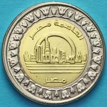 Египет 1 фунт 2019 год. Новая столица Египта - Ведиан.