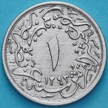 Египет 1/10 кирш 1876 год. 12