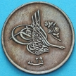 Монета Египет 1/40 кирш 1876 год.
