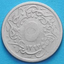 Египет 5/10 куруш 1895 год.