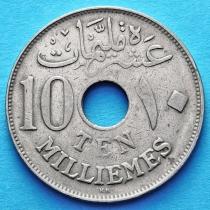 Египет 10 милльем 1917 год.