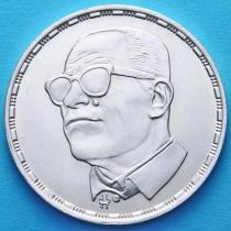 Египет 5 фунтов 1988 год. Нагиб Махфуз. Серебро