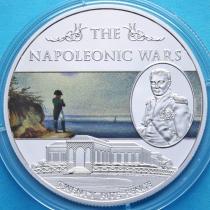 Остров Святой Елены 25 пенсов 2013 год. Наполеоновские войны. №5.