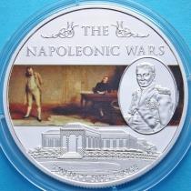Остров Святой Елены 25 пенсов 2013 год. Наполеоновские войны. №1.
