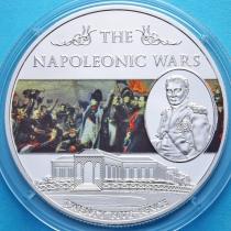 Остров Святой Елены 25 пенсов 2013 год. Наполеоновские войны. №3.