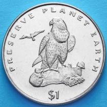 Эритрея 1 доллар 1996 год. Сокол