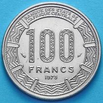 Габон 100 франков 1975 год.