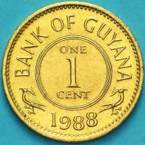 Гайана 1 цент 1988 год.