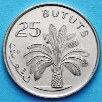Гамбия 25 бутут 1998 год. Масличная пальма.